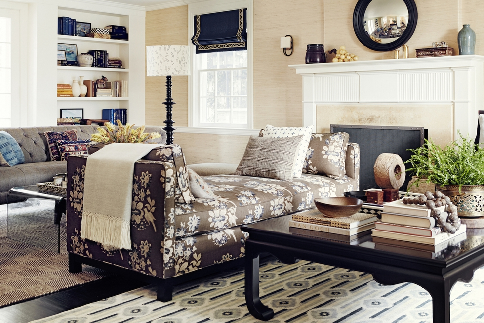 Living Room With Daybed by Betsy Burnham